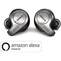 Jabra Elite 65t チタニウムブラック 北欧デザイン Alexa対応完全ワイヤレスイヤホン BT5.0 ノイズキャンセリングマイク付 防塵防水IP55 2台同時接続 2年保証【国内正規品】
