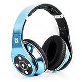 Bluedio R+ Legend Revolution series Bluetooth ヘッドホン ヘッ ドセット SDカード・Mp3音楽再生(メタリックブルー)