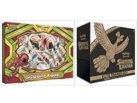 Pokemon Trading Card Game Scizor EXボックスと輝くLegends Eliteトレーナーボックスコレクションバンドル、1の各