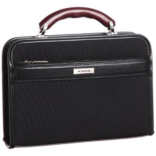 [マックレガー] McGregor 日常対応日本製ナイロンダレスバッグSサイズ28cm 21956 BK (ブラック)