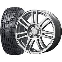 スタッドレスタイヤ・ホイール 1本セット 15インチ FALKEN ESPIA EPZF 195/65R15 91Q + MACBES MA7