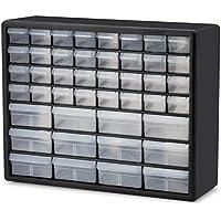 akro-mils 10144 D 20インチby 16インチby 6 – 1 / 2インチハードウェアとクラフトキャビネット、ブラック