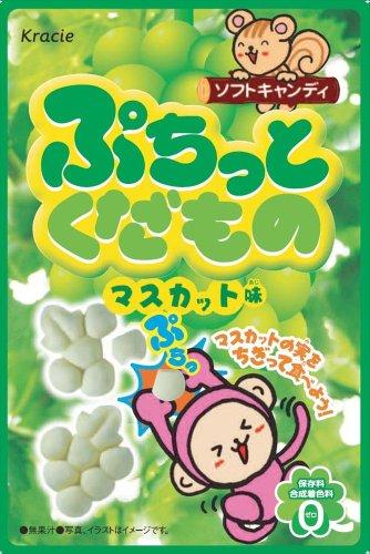 ぷちっとくだものマスカット味 10個入 BOX (キャンディ)