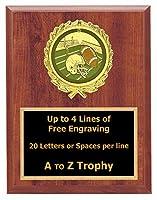 Fantasy Football Plaque Awards 5x 7木製スポーツトロフィーTournament Trophies Free Engraving