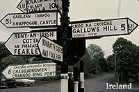 案内標識Bunratty Castle Folk公園Gallows丘アイルランドアイルランド観光旅行VisitポスターREPRO