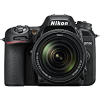 Nikon D7500 20.9MP DSLR Camera with AF-S DX NIKKOR 18-140mm f/3.5-5.6G ED VR Lens Black [並行輸入品]