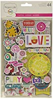 Project Life Playful Edition Chipboard Stickers by Project Life