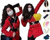 平野ノラ 衣装 なりきりセット (サイズS〜XXL 【S/キッズ】) コスプレ 仮装 バブリー美奈子 ディスコ メンズ 男性 子供