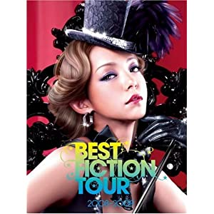 namie amuro BEST FICTION TOUR 2008-2009 [DVD]