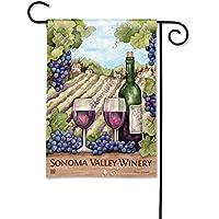 マグネットWorks , Ltd。Vineyardからボトルに庭フラグ