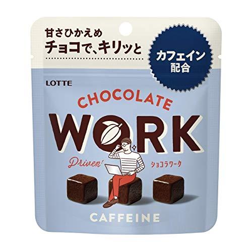 【冷蔵】ロッテ 「ショコラワーク」パウチ 1箱(10袋)
