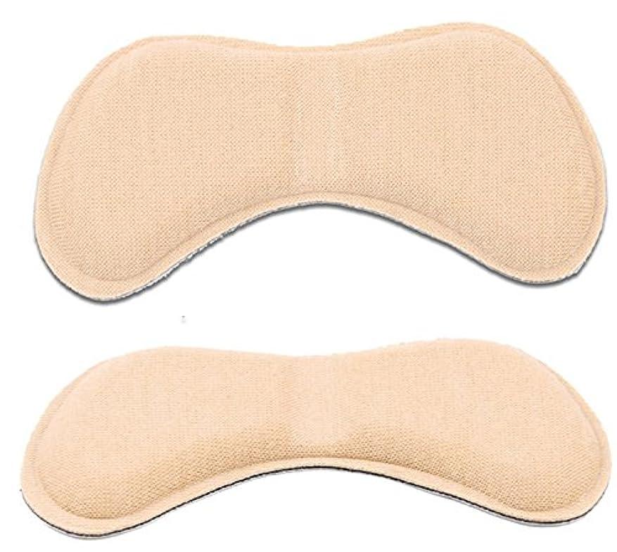 ヒゲヒゲディレクトリ[MNoel] ベージュ 靴ずれ防止 やわらかかかとクッション 貼るだけ簡単 滑り止め 魔法のかかとサポーター かかと抜け サイズ調整用 かかと 靴擦れ 防止 シート パット