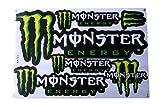MONSTER ENERGY モンスターエナジー ステッカーセット グリーン