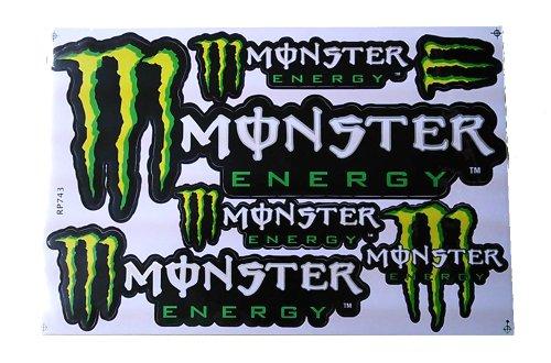 RoomClip商品情報 - MONSTER ENERGY モンスターエナジー ステッカーセット グリーン