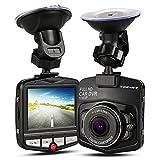 Topist ドライブレコーダー 1080p 120度広角防犯カメラ カー用品 録画 コンパクトドライブレコーダー pcカメラ、Webカメラとして使えます