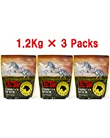 【value pack 1.2Kg × 3袋】バイオ精密BB弾 【GALLOP】【0.25g 14400shots 5.95±0.01mm WHITE】