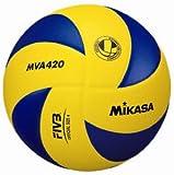 ミカサ バレーボール 練習球4号 中学校/家庭婦人用 MVA420
