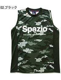 [スパッツィオ] メンズ レディース フットサル ノースリーブシャツ CAMUFFAMENTO NO SLEEVE S ブラック GE-0363 S