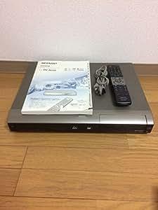 SHARP シャープ DV-AC82 デジタルハイビジョンレコーダー (HDD/DVDレコーダー) AQUOS アクオス HDD:250GB 地デジ対応