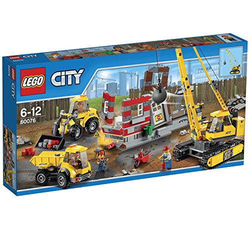 レゴ (LEGO) シティ ビル解体工事現場 60076