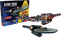 Puzzle - Star Trek - Ship and Collage New Licensed Gift Toys 75008