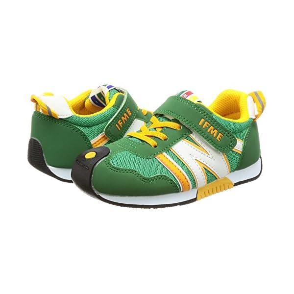 [イフミー] 運動靴 30-7705 グリーン...の紹介画像5