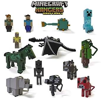 Minecraft Hangers Series 4 マインクラフト ブラインドボックス クリップ・キーホルダー 1個 (ランダム) Series 4
