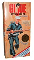 G.I. Joe 1996 Limited Edition World War II 50th Anniversary Commemorative Series with Individually Numbered 30cm Tall Soldier Action Figure - Action Sailor with Sailor Uniform, Belt with Holster and Pistol, Duffel Bag, Sailor Cap, Dog Tag, and Rifle (C