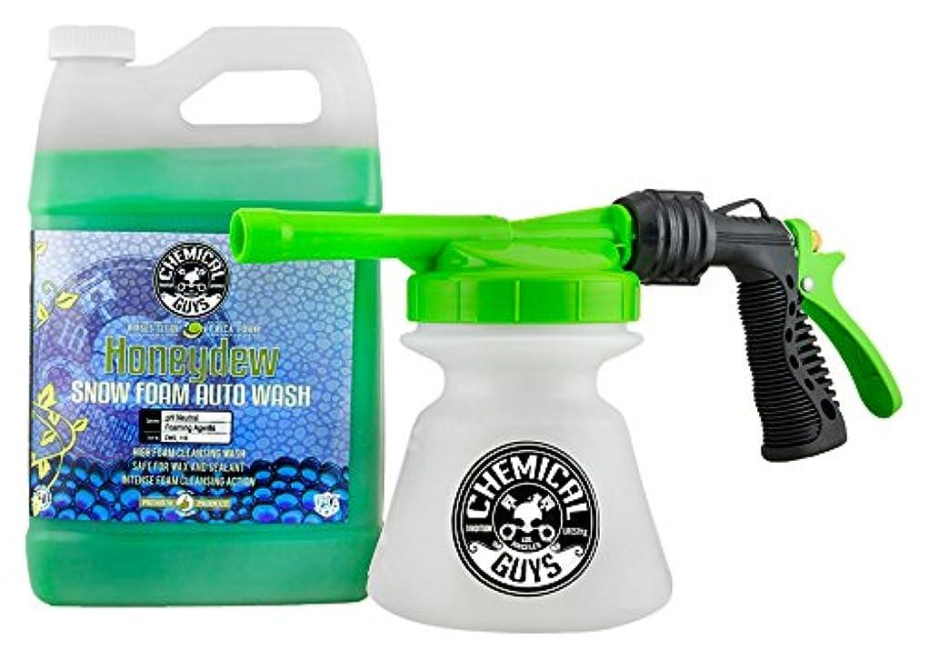 扱いやすい持参抜け目のないChemical Guys hol310雪Foam Auto Wash (1ガロン、Torq雪Foam Blaster r1 Foam Gun & Honeydew、128 flオンス、1パック