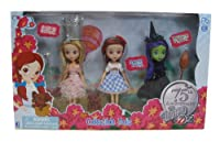 Wizard of Oz Dorothy/Witches Doll Set, 3-Pack