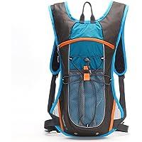Xuan - worth having アウトドアライディングバックパック5Lユニセックスレジャーショルダーハイキングトレッキングパッケージ撥水ティアナイロン弾性ロープEVAバックパック