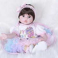 PKJOkmjko シミュレーション人形全シリカゲル赤ちゃん幼児教育迫真の女の子の人形人形55センチ迫真再生玩具人形姫児童玩具子どもの誕生日プレゼント