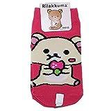 子供用 靴下 キャラクター 各種 soxk (約13~18cm, コリラックマ)rksoc821