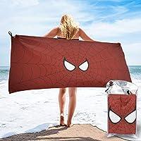 大判 ビーチタオル アベンジャーズ-スパイダーマン 家庭用 ビーチタオル 海辺旅行 ビーチ 薄手 軽量 湯上りタオル 海水浴 バスタオル 旅行タオル 肌触り良い プール