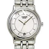セイコー SEIKO CREDOR クレドール 8J86 6A00 メンズ 腕時計 ホワイト文字盤 デイト クォーツ ウォッチ 【中古】 90055868 [並行輸入品]