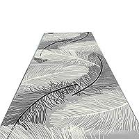 YANFEI カーペット, 廊下カーペットフェザーシリーズは、ランナーカーペットを洗うためにカットすることができます (色 : 1, サイズ さいず : 60*200cm)