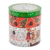 シール堂 Shinzi Katoh ストーリー マスキングテープセット クリスマス ks-mt-20009