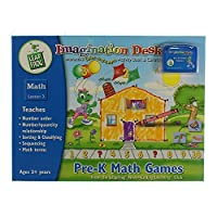 Leap Frog Imagination Desk Pre-k Math Games [並行輸入品]