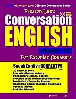 Preston Lee's Conversation English For Estonian Speakers Lesson 1 - 20 (British Version)