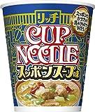 日清 カップヌードル リッチ スッポンスープ味 67g