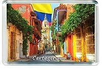 H033 Cartagena 冷蔵庫マグネット コロンビア旅行冷蔵庫マグネット