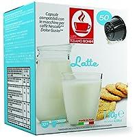 Dolce Gusto専用互換 カプセル ラテ Latte  製造:イタリア 10 capsules。 同時に複数個のご注文でも送料は同じ1送料分です。