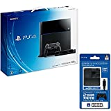 PlayStation 4 (PS4) PlayStation Camera同梱版 ジェット・ブラック (CUH-1100AA01) 【Amazon.co.jp限定】ACアダプタ for DUALSHOCK4付