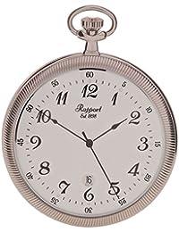 [ラポート]RAPPORT 懐中時計 スリム オープンフェイス クオーツ デイト PW33 【正規輸入品】