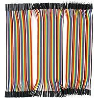 IZOKEE 3本セット 120pcs ブレッドボード・ジャンパーワイヤー ジャンパー線/ケーブル 20cm 40本オス-オス/ 40本オス-メス/ 40本メス-メス for arduino