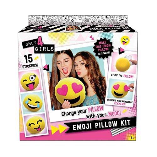 Canal Toys Only 4 Girls Emoji Pillow Kit [並行輸入品]...