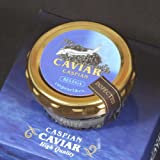 ミシュランガイド三つ星店が認めるカスピ海産極上天然フレッシュキャビア ベルーガ50g瓶 化粧箱入り
