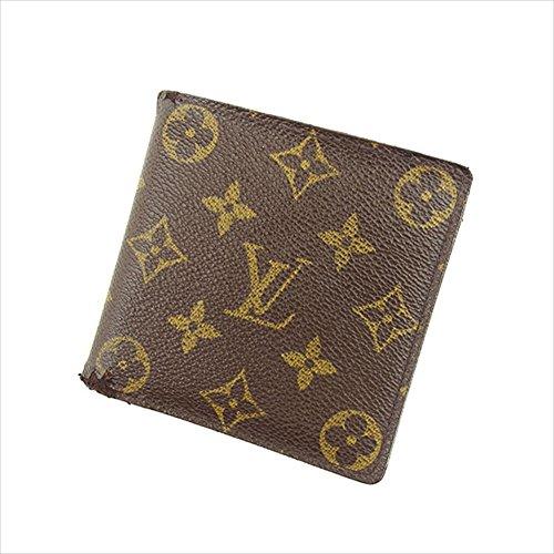 [ルイ ヴィトン] Louis Vuitton 二つ折り財布 ポルトビエカルトクレディモネ M61665 モノグラム 中古 Y6360