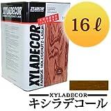 キシラデコール #103チーク [16L] XYLADECOR 日本エンバイロケミカルズ 屋外木部 ログハウス ウッドデッキ [木材保護塗料]