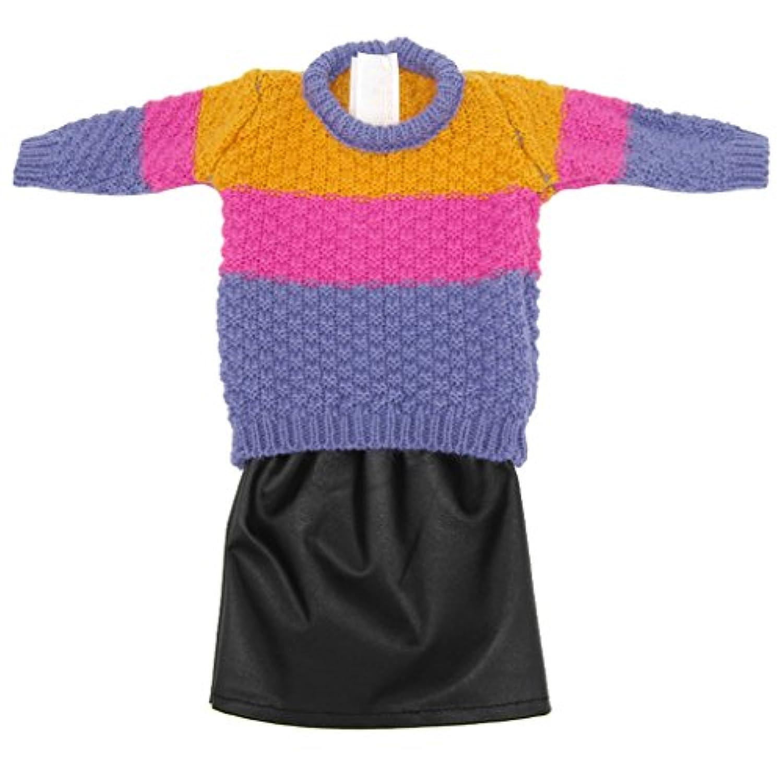 Dovewill  18インチアメリカンガールドール適用 素敵 人形 センター トップ ドレス 服装